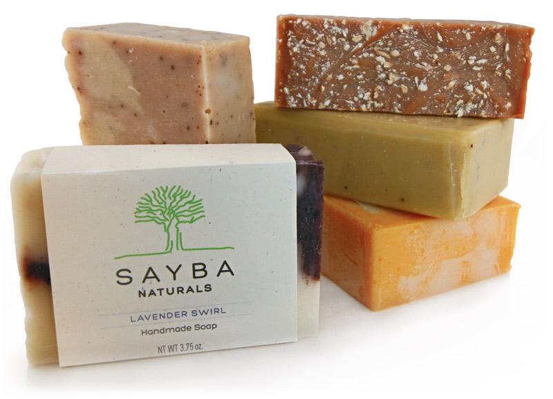 Sayba Naturals handmade soap